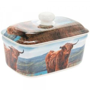 Highland Coo / Cow Butter Dish LP93951